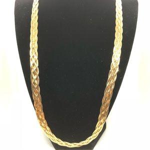 Vintage Vermeil Sterling Necklace